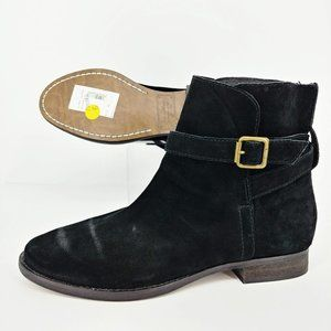 Sam Edelman NWT Black Suede Malone Ankle Boots